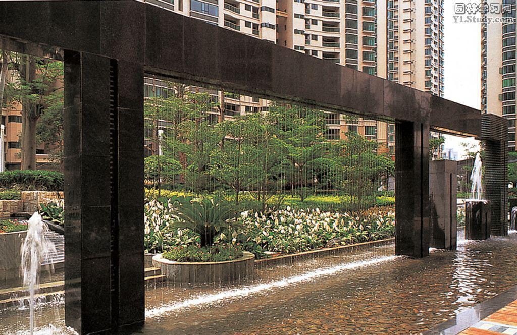 四川水帘喷泉