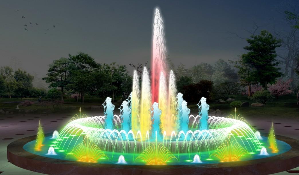 四川程控喷泉效果图