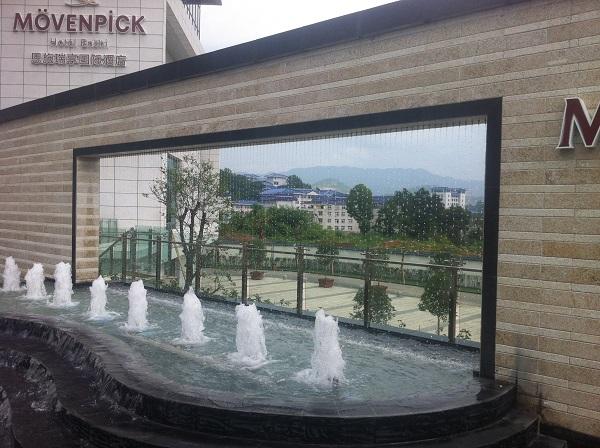 四川水帘喷泉设计