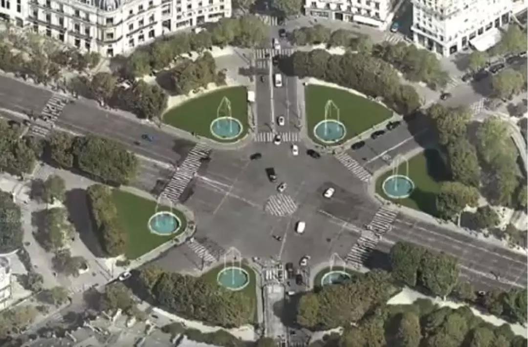 成都喷泉导读:用价值630万欧、3060面施华洛世奇水晶堆出来的香街喷泉,到底什么样