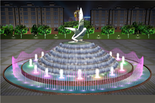 四川广场喷泉