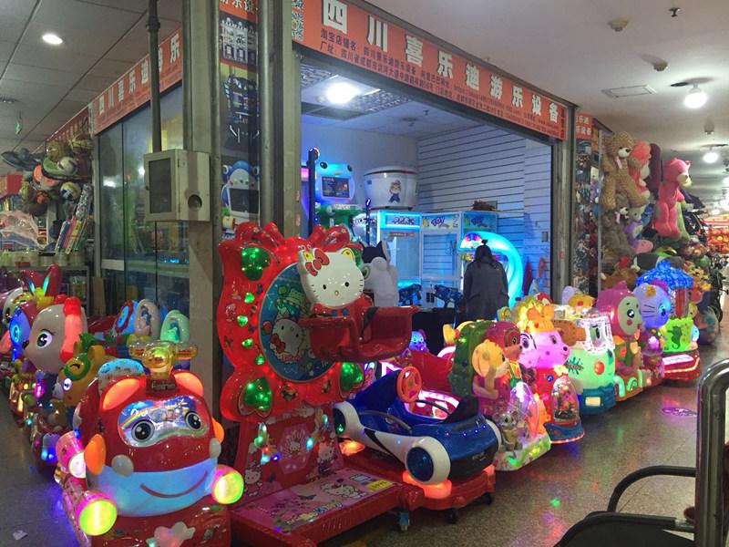四川儿童游戏机门店展示