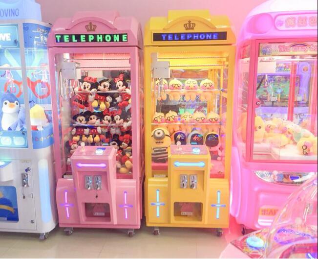 抓娃娃机能够带来哪些价值?四川娃娃机厂家为您揭晓