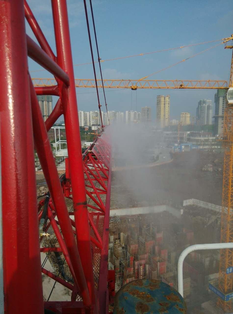 我公司和中石化工程有限公司有关陕西塔吊喷淋的合作