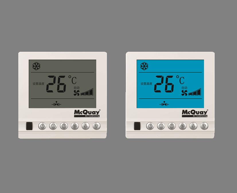 大屏液晶温控器 AC8100