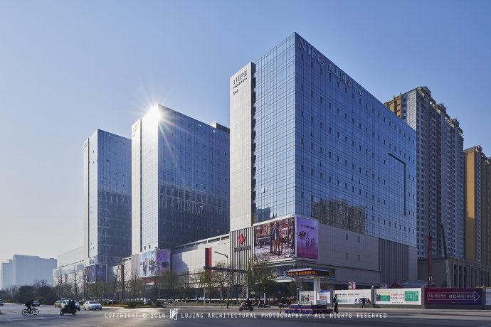 陕西GRC装饰构件生产公司办公楼外景
