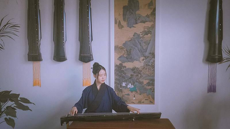 高級古琴導師——安琪老師