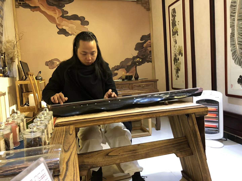 蔡氏古琴,古琴表演会指定专属古琴