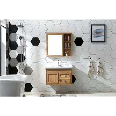 pvc浴室柜与实木浴室柜相比较,有哪些不同之处呢