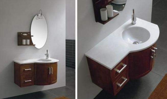 河南浴室柜批发案例