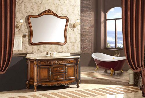 怎么样去辨别高档的浴室柜的真假呢