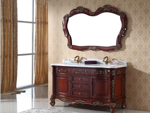 实木浴室柜在进行搭配的时候有哪些技巧呢