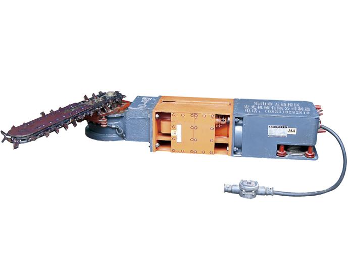 四川MJ40反机头割煤机