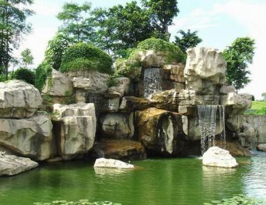 成都假山噴泉