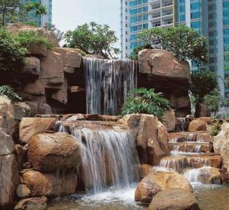 成都假山喷泉施工