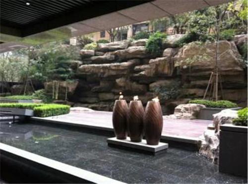 成都假山喷泉设计