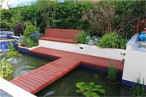 成都私家花园施工改造