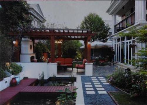 静雅的西方古典式私家花园