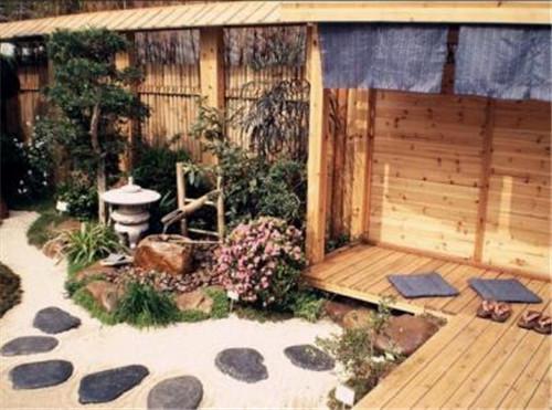 日式风格的入户花园设计独特