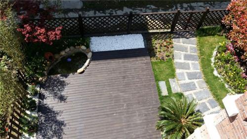 成都私家花园设计新颖,施工专业