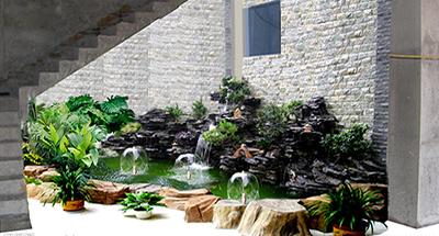 成都假山喷泉所用的材料有哪些?