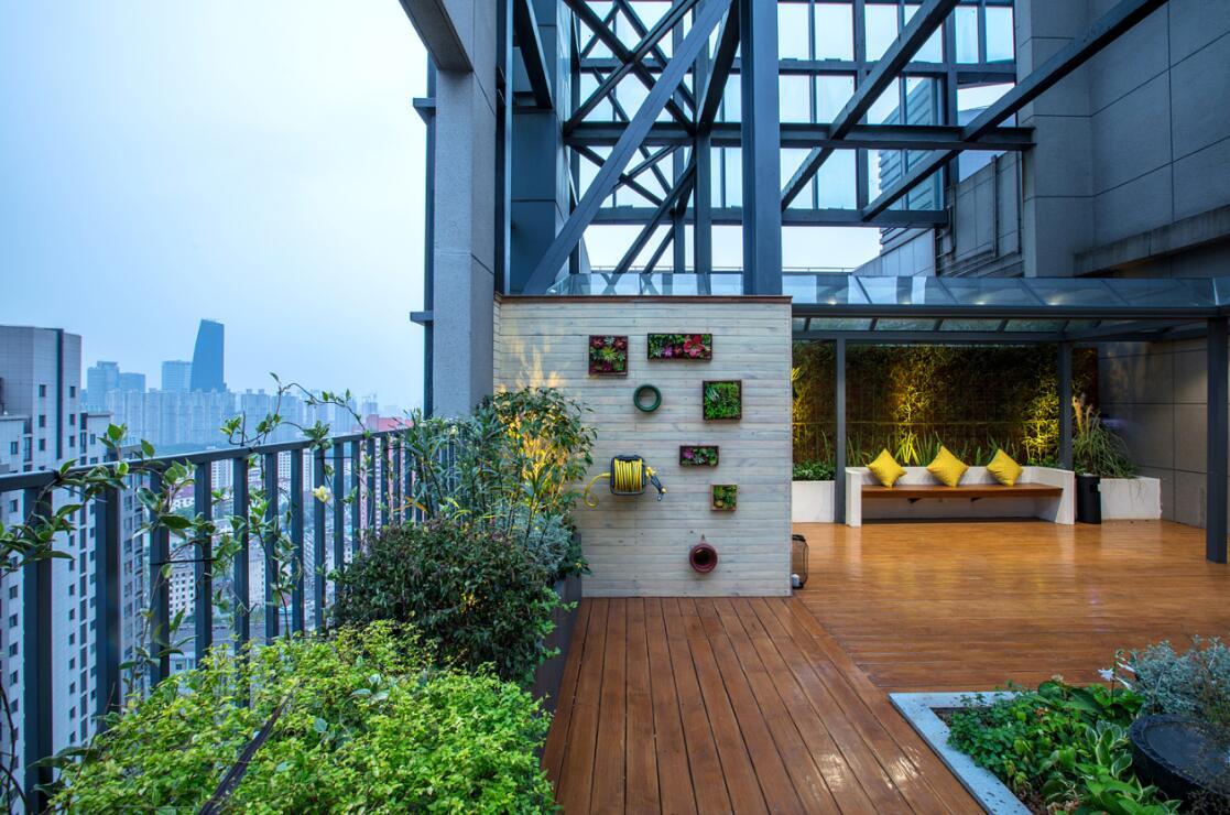 干货|成都屋顶花园四个设计技巧
