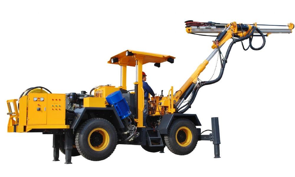 履带式钻车应用案例