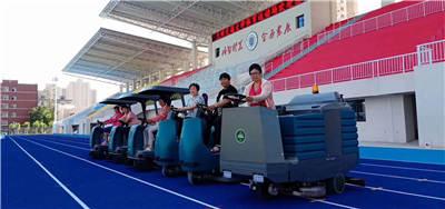 扫地机,在学校里面也投入了使用