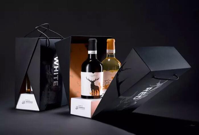 黑色红酒包装盒(多支装)