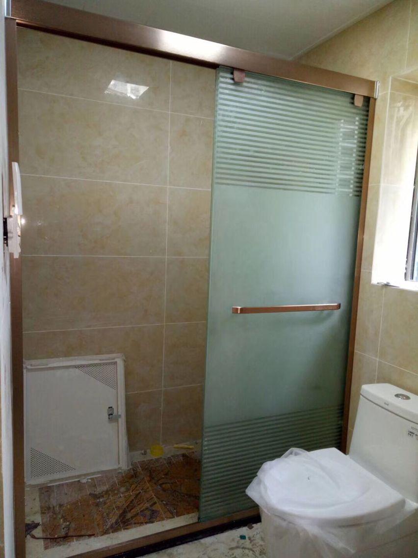 绵阳淋浴隔断合作案例