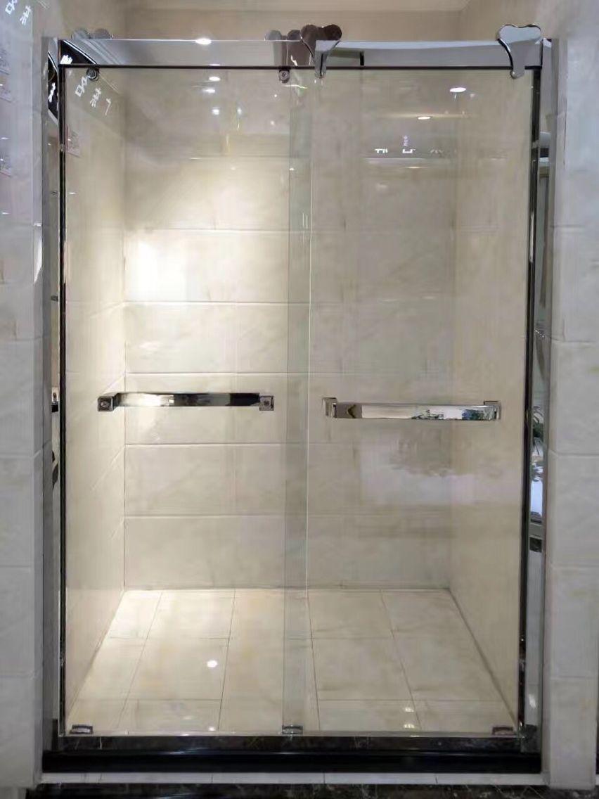 成都淋浴隔断合作案例