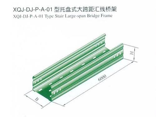 四川电缆桥架(托盘式大跨距直通)