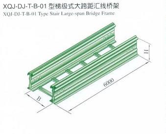 成都大跨距式电缆桥架(托盘式大跨距直通)