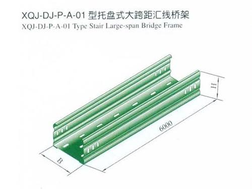 绵阳托盘式大跨距式电缆桥架
