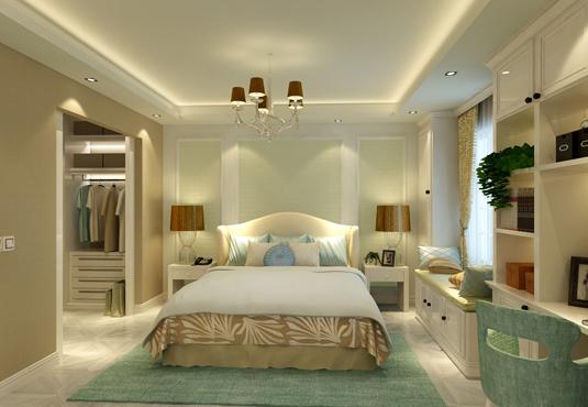 卧室太大了?不知道要怎么装?