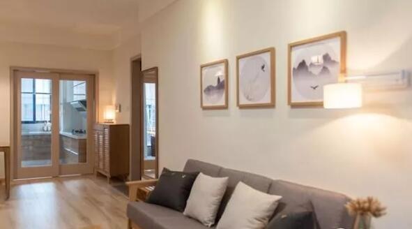 沙发背景墙照片