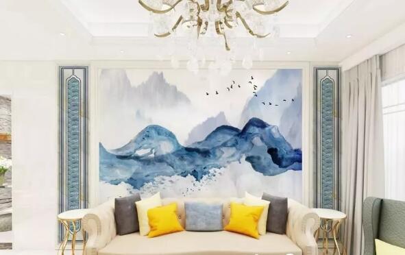 广东微晶石背景墙