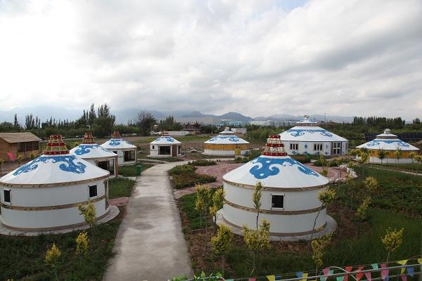 大蒙古包外景