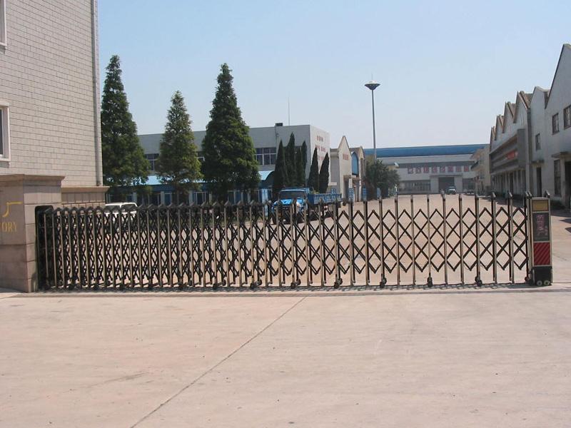 伊山北岸工程安装电动门