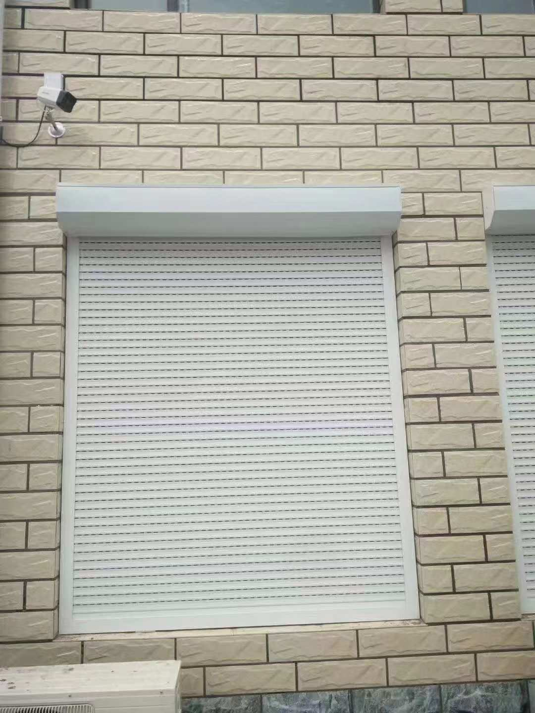 铝合金窗户卷帘门设计