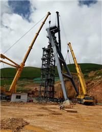 甘肃省玛曲县格萨尔黄金实业股份有限公司1071明竖井安装工程