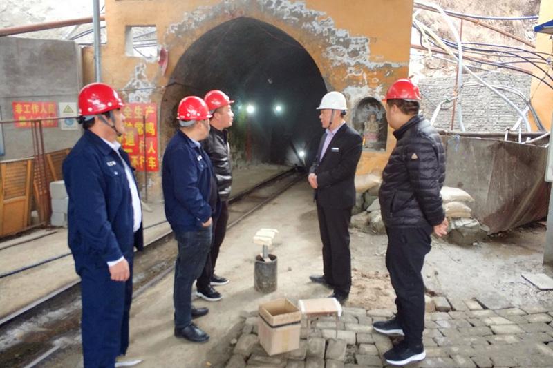 耀杰集團—冬季安全檢查之襄汾縣東瑞礦業有限公司二系統
