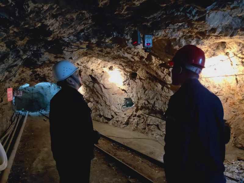 节前安全专项检查之甘肃洛坝柳林二线铅锌矿