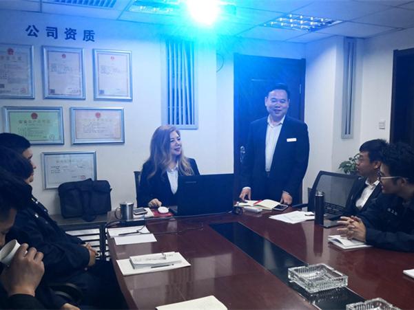 陜西耀杰建設集團新員工培訓會議