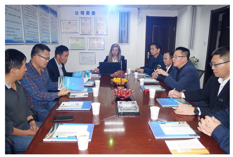 陕西安康宝林矿业有限公司领导一行莅临耀杰集团考察