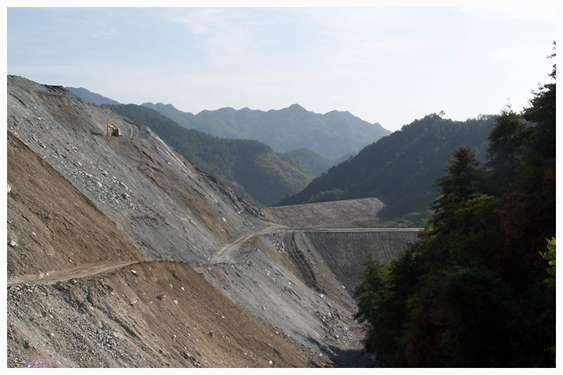 陜南石棉礦尾礦庫 隱患治理工程