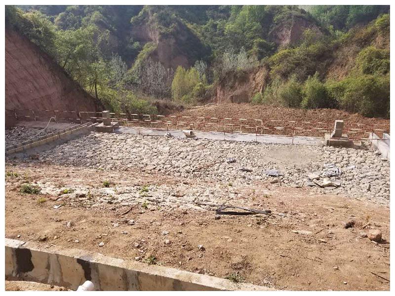 甘肅馬陽坡溝尾礦庫閉庫工程