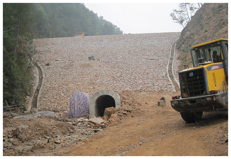 陜西辰州礦產開發有限責任公司小西溝尾礦庫工程