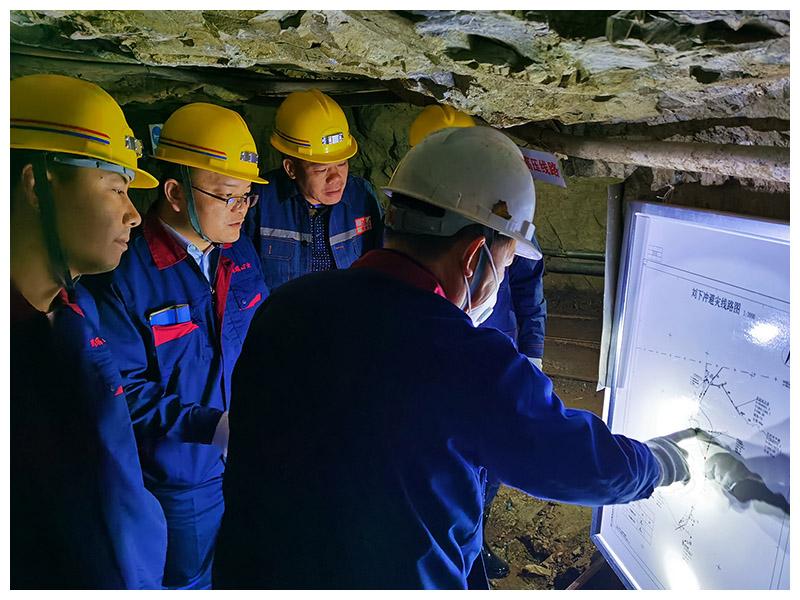 热烈祝贺耀杰集团施工项目湖南玛瑙山矿刘下冲工区采矿技改工程通过竣工验收