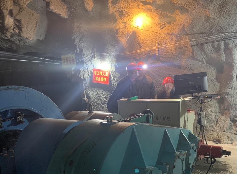 耀杰集团施工现场检查之山西省翼城县小神沟矿业有限公司